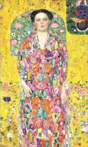グスタフ・クリムト《オイゲニア・プリマフェージの肖像》1913/1914年 豊田市美術館