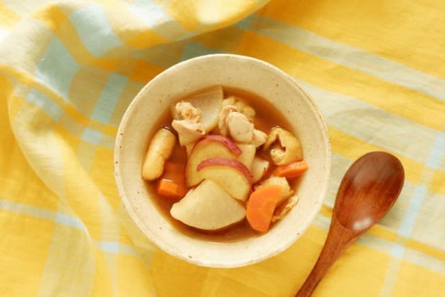 【管理栄養士が教える減塩レシピ】寒暖差の激しい季節に食べたい、具だくさん汁