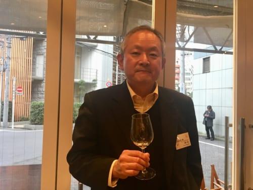シャトー・メルシャンの安蔵光弘さん。「日本ワインはフィネスが魅力」と今後の甲州の未来を語る。
