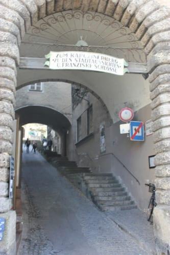 リンツァー通りにある門