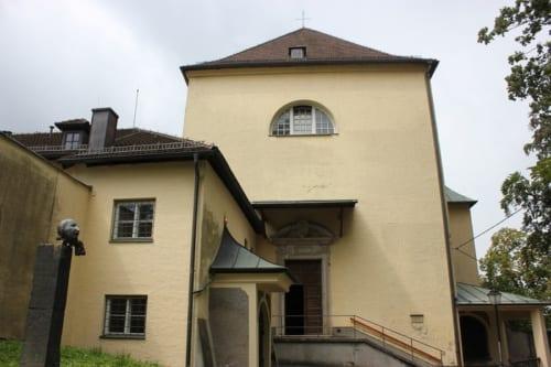 カプツィン修道院の教会