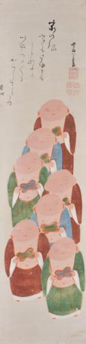 伊藤若冲 「伏見人形図」 個人蔵 ※前期のみの展示(後期は別の若冲の《伏見人形図》を展示予定)