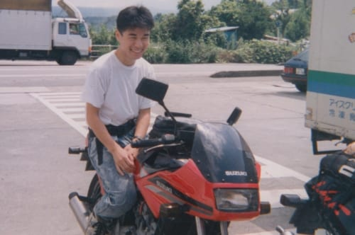 GF250Sのことを調べるうちにスズキのオートバイが持つ先進性に気が付き、哲也さんのスズキ好きが加速します。