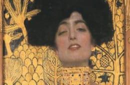 グスタフ・クリムト《ユディトⅠ》1901年  ベルヴェデーレ宮オーストリア絵画館  (C)Belvedere,Vienna,Photo:Jonannes Stoll