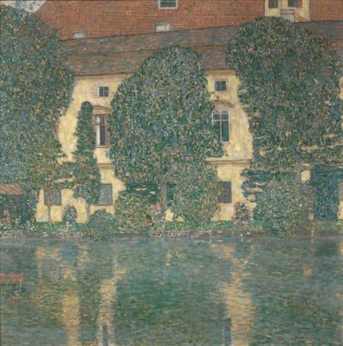 グスタフ・クリムト《アッター湖畔のカンマー城Ⅲ》1909/10年  ベルヴェデーレ宮オーストリア絵画館  (C)Belvedere,Vienna,Photo:Jonannes Stoll