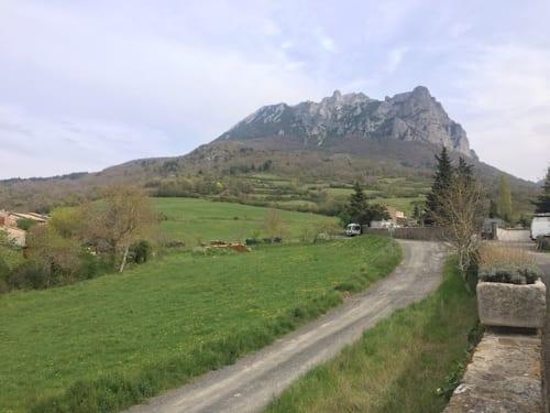 ビュガラッシュ山全景
