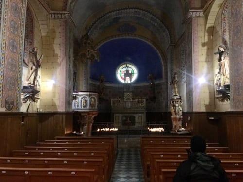 聖マグダラ・マリア教会内部