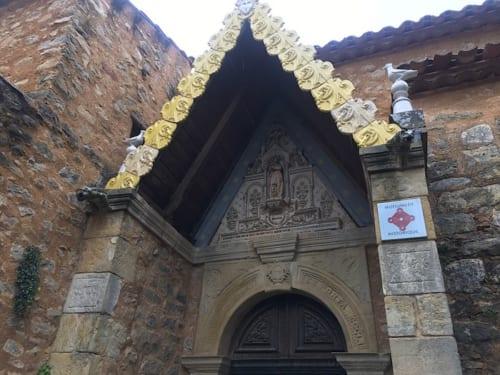 聖マグダラ・マリア教会入り口