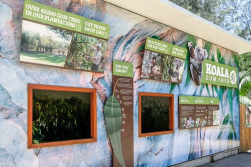 野生動物の保護について学べる