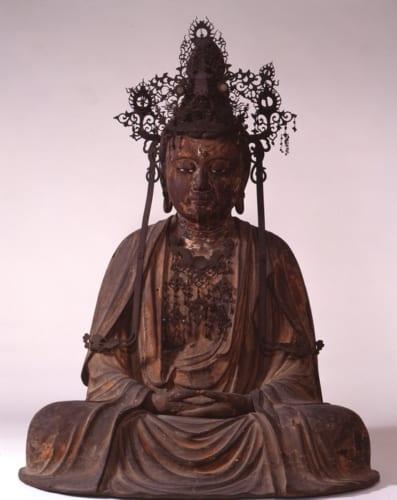 「宝冠釈迦如来坐像」鎌倉時代 白雲庵