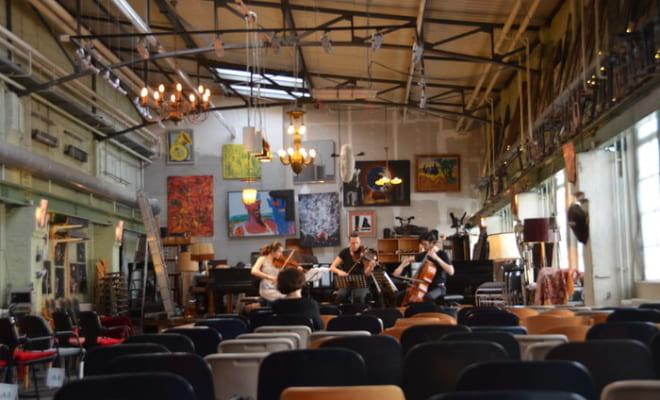 ピアノサロン・クリストフォリのコンサート