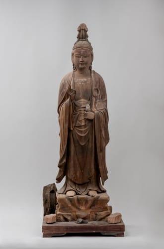 「観音菩薩立像」南北朝時代 円覚寺