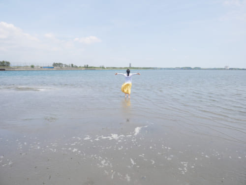 海の湖「浜名湖」の真ん中に降り立ち非日常の体験を