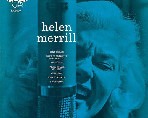(1)ヘレン・メリル『ヘレン・メリル・ウィズ・クリフォード・ブラウン』(エマーシー)