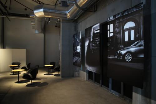随所に、マツダのモノ造りへのこだわりを感じさせる展示が。「Car as ART(アートとしてのクルマ)」というマツダのデザイン哲学が体現された発表会だった。