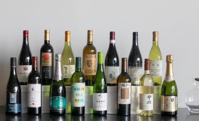 今年、五つ星を受賞した15ワイナリーのワインが一堂に。