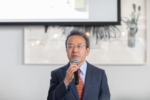審査委員長の遠藤さんから、評価の基準などの説明があった。