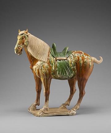 三彩馬 中国 唐時代 出光美術館蔵