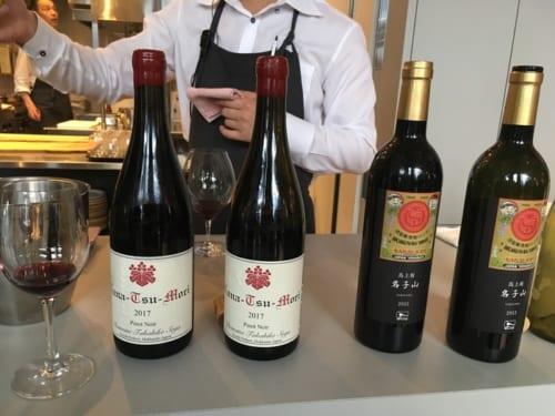 五つ星を獲った生産者のワインが振舞われた。