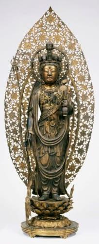 重文「十一面観音菩薩立像」鎌倉時代・13世紀 奈良・長谷寺蔵 画像提供・奈良国立博物館