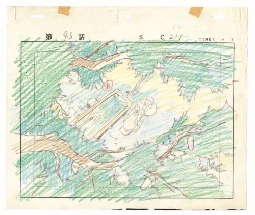 「アルプスの少女ハイジ」レイアウト画 (C)ZUIYO 「アルプスの少女ハイジ」 公式ホームページhttp://www.heidi.ne.jp