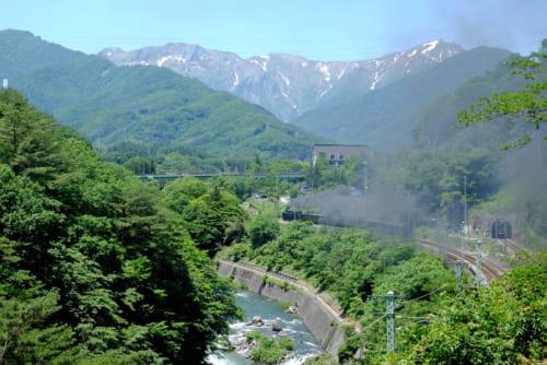 谷川岳と上越線