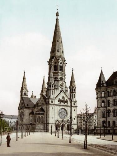 1900年の旧教会 (C)wikipedia