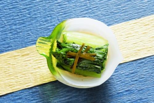 小松菜の昆布漬け