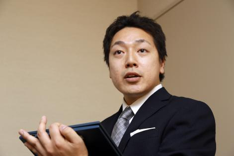 動物看護師の佐々木優斗さん