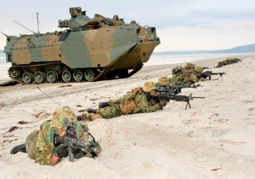 水陸機動団は、陸上自衛隊で唯一の水陸両用作戦部隊。
