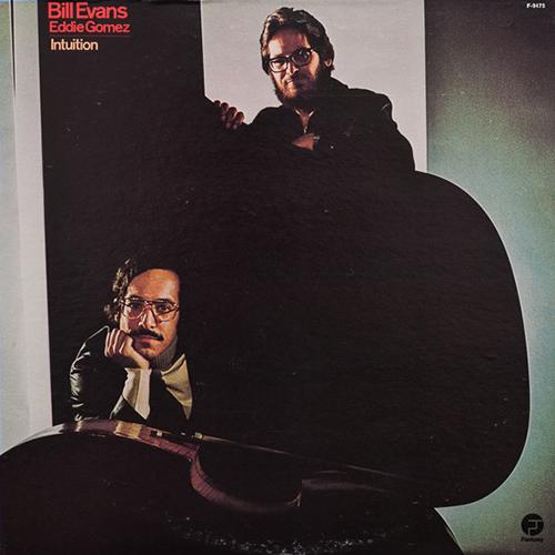 ビル・エヴァンス&エディ・ゴメス『インチュイション』 演奏:ビル・エヴァンス(ピアノ、エレクトリック・ピアノ)、エディ・ゴメス(ベース) 録音:1974年10月11月7〜10日 ビル・エヴァンスは1970年からエレクトリック・ピアノを使いはじめますが、75年のライヴ盤を最後に、それからは一切弾くことはありませんでした。『インチュイション』はそのエレピ時代の代表作。これはエヴァンスの意欲作だったのでしょうか、それとも「黒歴史」?