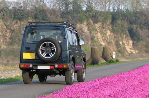 M3では走れない道を走れるのも、ジムニーを選んだ理由のひとつとのこと