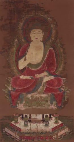 国宝《釈迦如来像(赤釈迦)》京都・神護寺所蔵