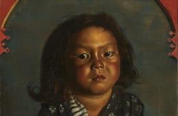 《麗子肖像(麗子五歳之像)》1918年10月8日 東京国立近代美術館
