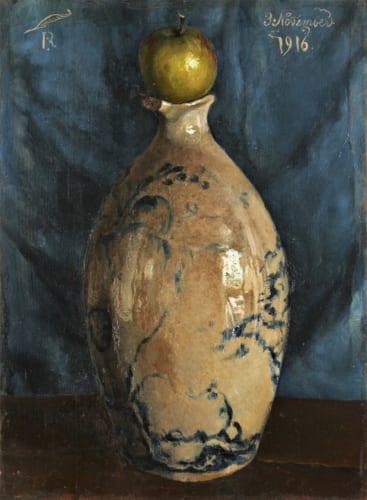 《壺の上に林檎が載って在る》1916年11月3日 東京国立近代美術館