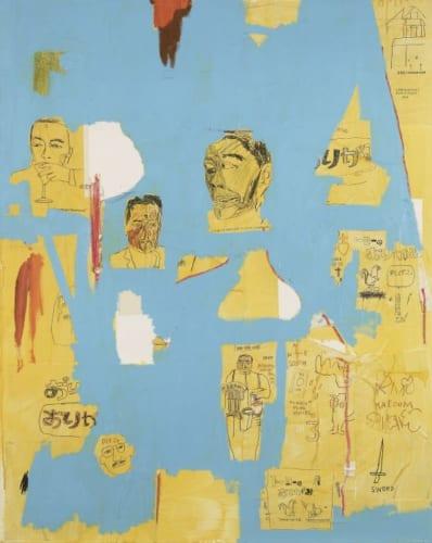 ジャン=ミシェル・バスキア Prastic Sax,1984 agnès b. collection Artwork (C) Estate of Jean-Michel Basquiat Licensed by Artestar,New York