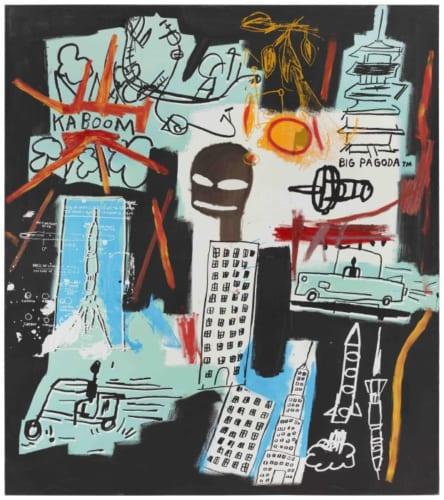 ジャン=ミシェル・バスキア Carbon/Oxygen,1984 Hall Collection Photo:Raul Valverde / onwhitewall.com Artwork (C) Estate of Jean-Michel Basquiat. Licensed by Artestar,New York