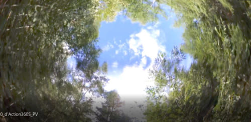 アクションカメラで撮影した画像イメージ