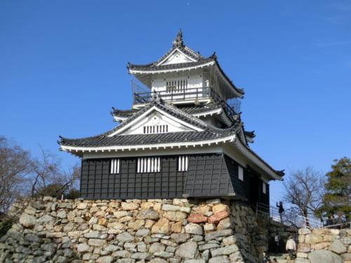 現在見学できる浜松城天守周辺の石垣は堀尾吉晴が築いた