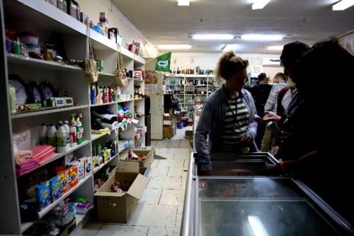 チェルノブイリの雑貨屋