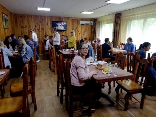 チェルノブイリの食堂