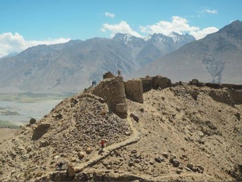 紀元3世紀からシルクロード交易の中継地であったヤムチュン砦