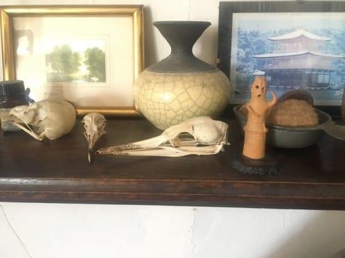 前例右から二番めが、ガチャポンでとった埴輪フィギュア。