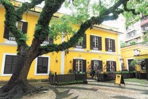 『アルベルゲ1601』は、ポルトガル最古の慈善団体が造った建物にある。