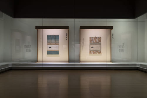 特別展『流転100年 佐竹本三十六歌仙絵と王朝の美』展示風景