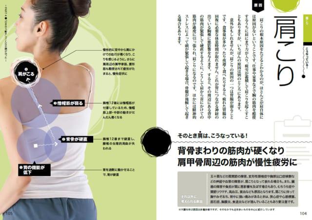 胃腸が弱って肩こりが生じることもある(本書104~105pより)
