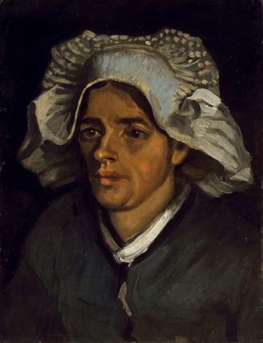 フィンセント・ファン・ゴッホ《農婦の頭部》1885年 スコットランド・ナショナル・ギャラリー (C)National Galleries of Scotland, photography by A Reeve