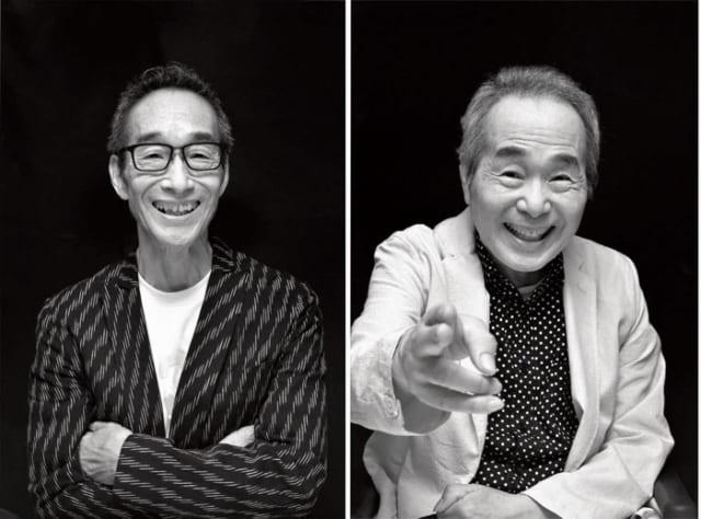 (左)すがわら・すすむ 昭和22年9月21日、東京生まれ。青山学院大学卒業。ビリー・バンバンの弟で、ボーカルとギター、曲作りの多くを手がける。ソロ歌手としても活躍。 (右)すがわら・たかし 昭和19年8月7日、東京生まれ。慶應義塾大学卒業。兄弟デュオ、ビリー・バンバンの兄。主にボーカルを担当する。司会者、俳優としても活躍。