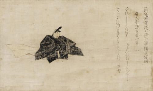 重要文化財 佐竹本三十六歌仙絵 源信明 鎌倉時代 13世紀 京都・泉屋博古館 【通期展示】