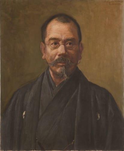 松岡壽《辰野金吾肖像》1921年 辰野家蔵